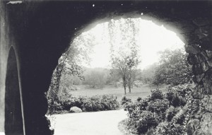 Ellicottdale Arch, Franklin Park, an Olmsted Park in Boston, MA. Olmsted National Historic Site, photo courtesy NPS  National Association of Olmsted Parks.
