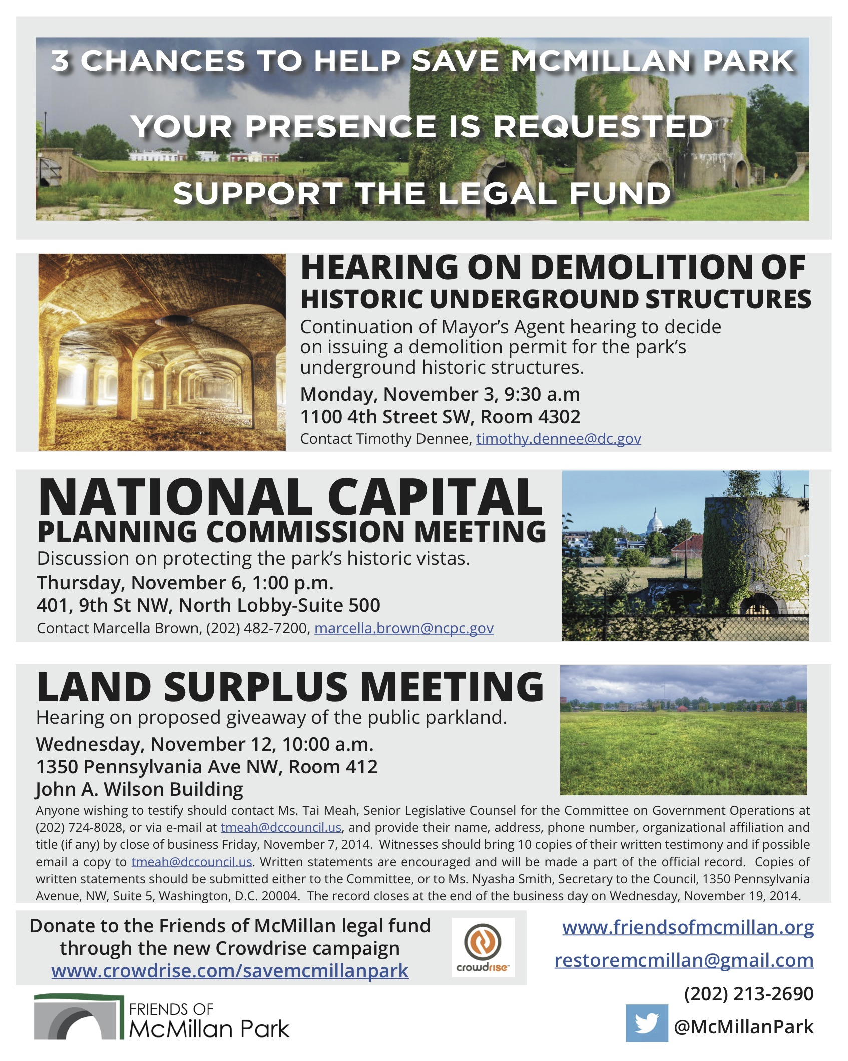 McMillan Park Nov2014 Public Hearings Flyer